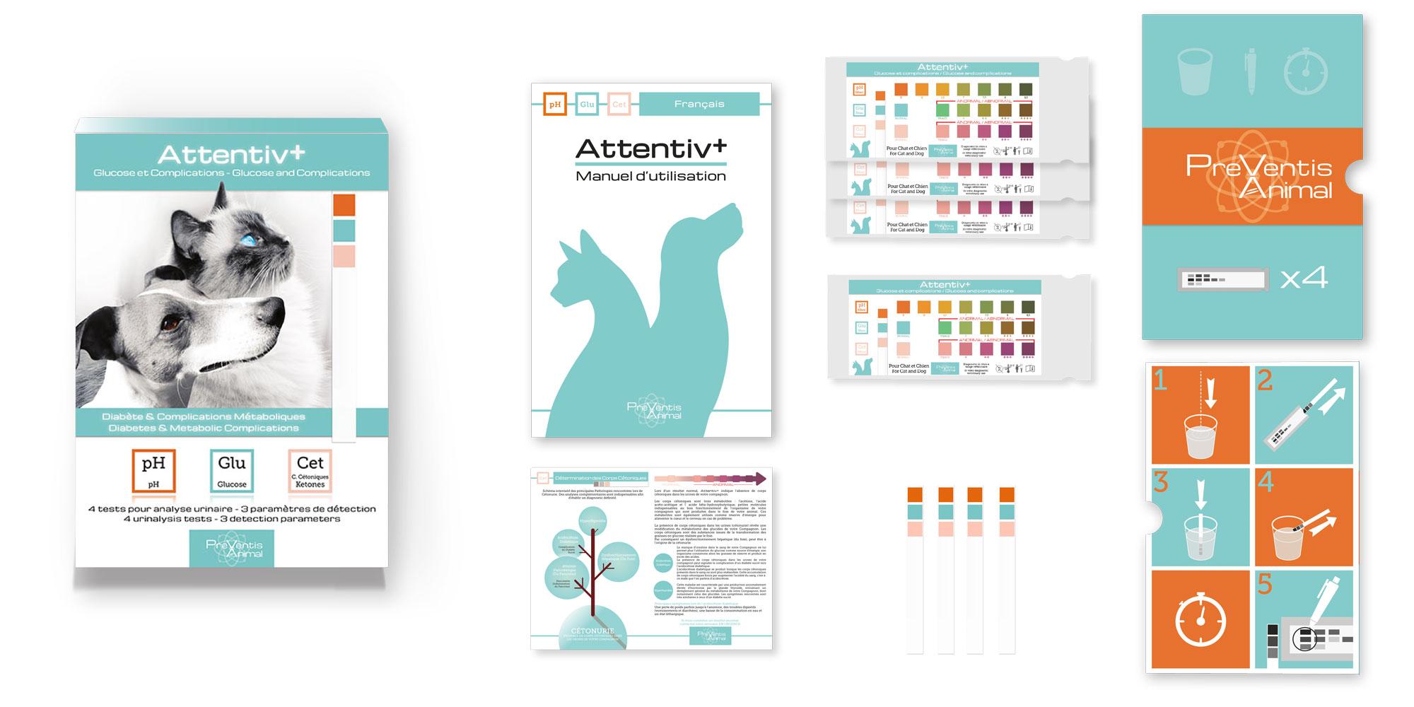 depistage diabete chat chien test sante veterinaire Attentivplus