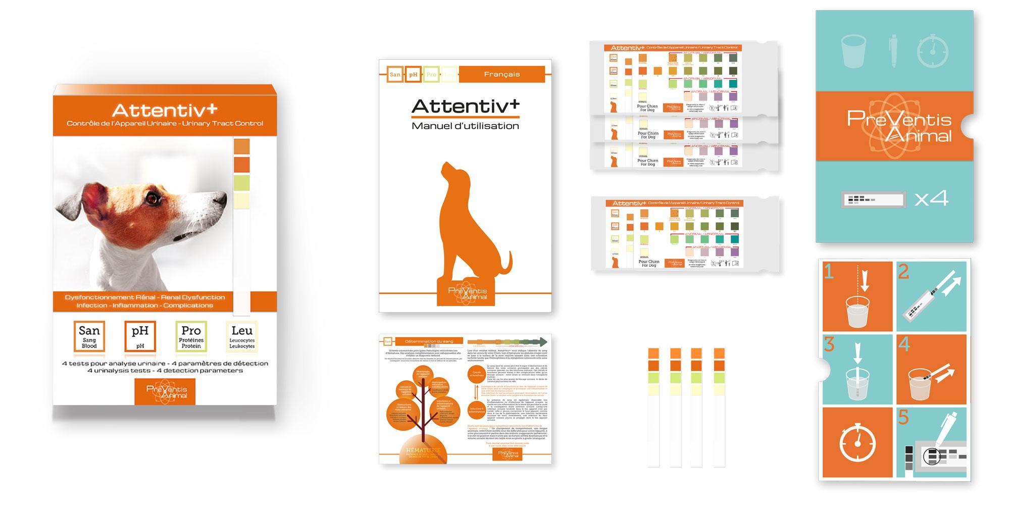 Comment détecter les problèmes urinaires du chat avec le test de santé pour chien Attentiv+ ?