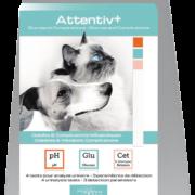 Depistage diabete veterinaire à domicile Kit analyse urinaire chat chien Attentivplus